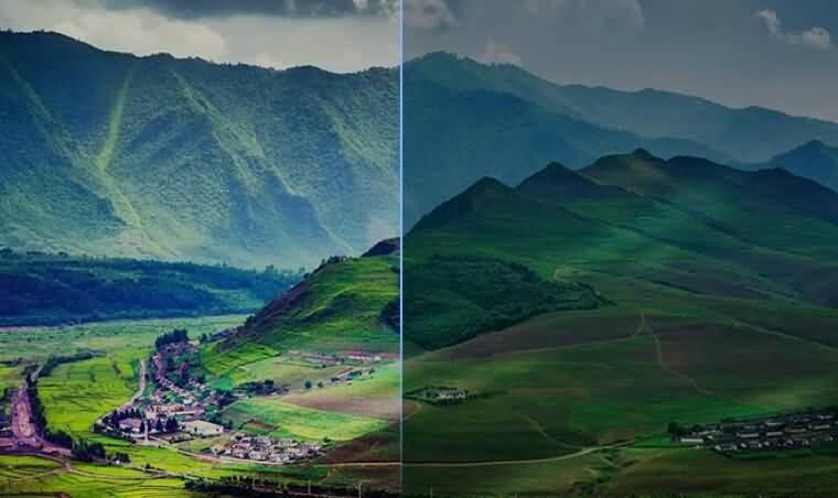 图像对比度增强效果api接口