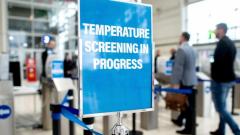 目前有170家公司提供体温扫描系统中包含面部生物识别