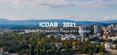 百度AI联合举办ICDAR2021首届文档图像与语言研讨会