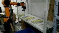 百度EasyDL物体检测助力医药物流高效药盒分拣